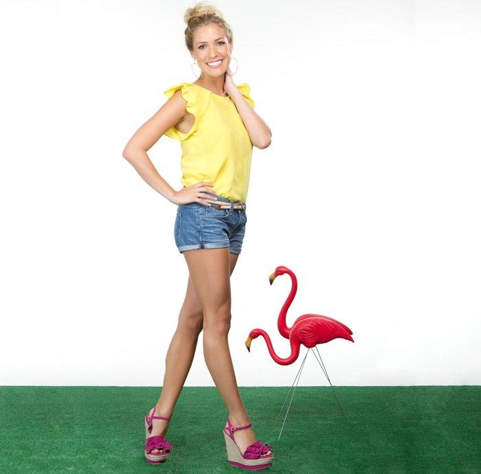 "Kristin Cavallari's ""Bardot"" Fuchsia Espadrille Wedges"