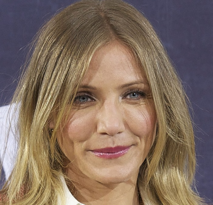Cameron Diaz is known for her sparkling blue eyes