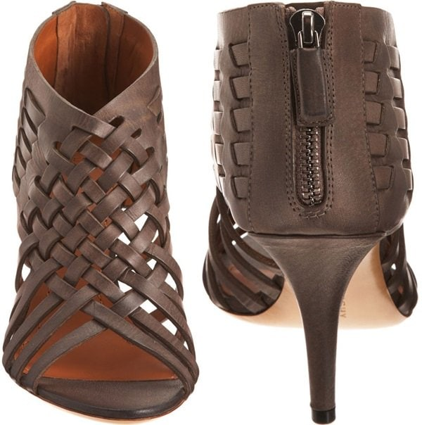 Givenchy Woven Bootie Back Front