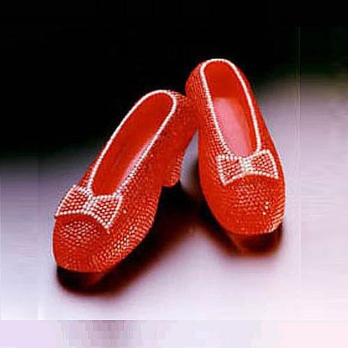Most Expensive Shoes in the World - House of Harry Winston Ruby Slippers