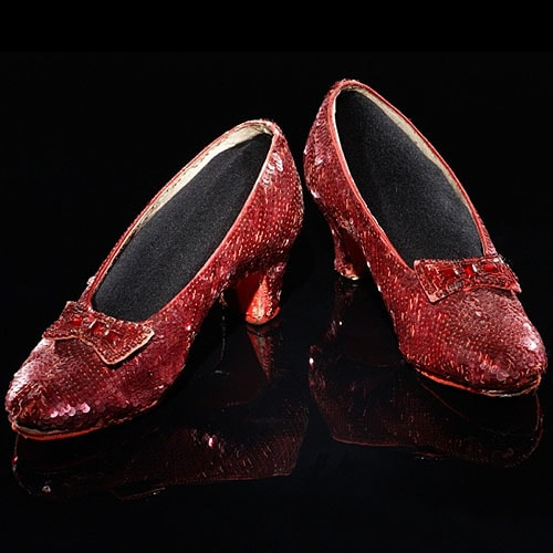 "Ruby Slippers from ""The Wizard of Oz"""