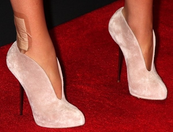 Blake Lively's Christian Louboutin Fastissima ankle boots