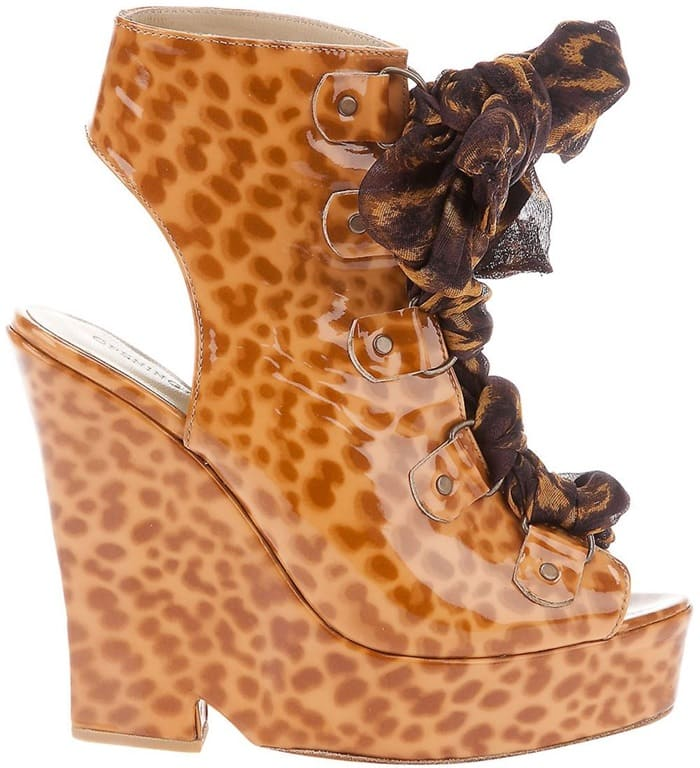 Opening Ceremony Margot Wedge Ankle Booties