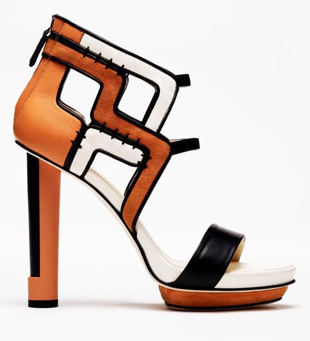 Burak Uyan Color Block Spring 2011 Sandals
