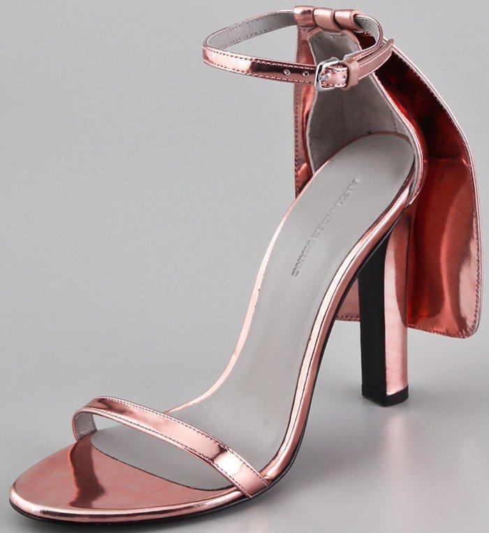 Alexander Wang Fabiana high heel sandals in blush
