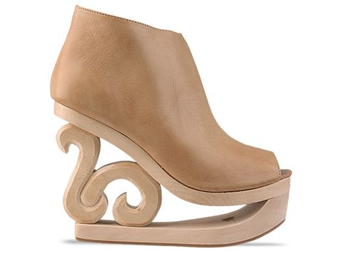 Jeffrey Campbell 'Skate' in Beige