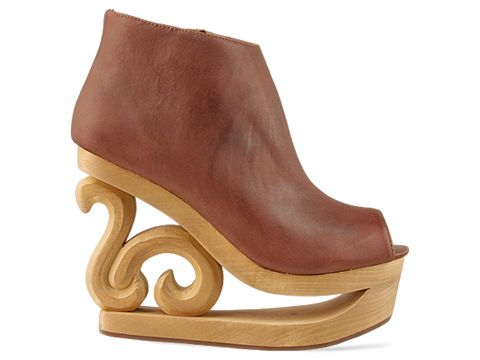 Jeffrey Campbell 'Skate' in Brown