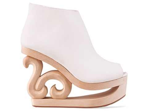 Jeffrey Campbell 'Skate' in White