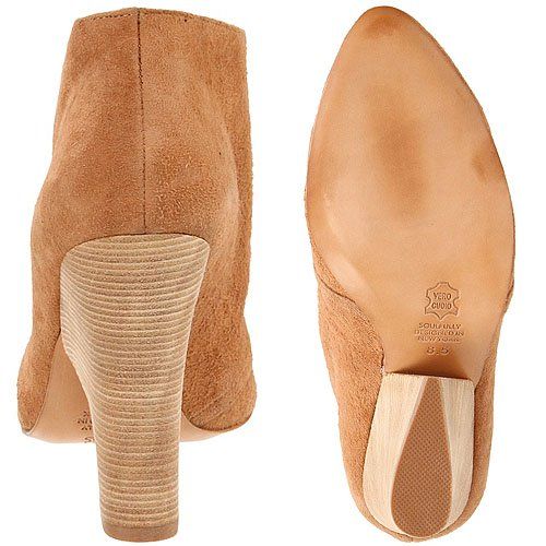 That isn't just a stacked heel but a blade heel