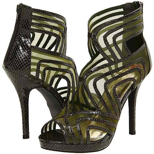 Promiscuous Quiana sandals in green