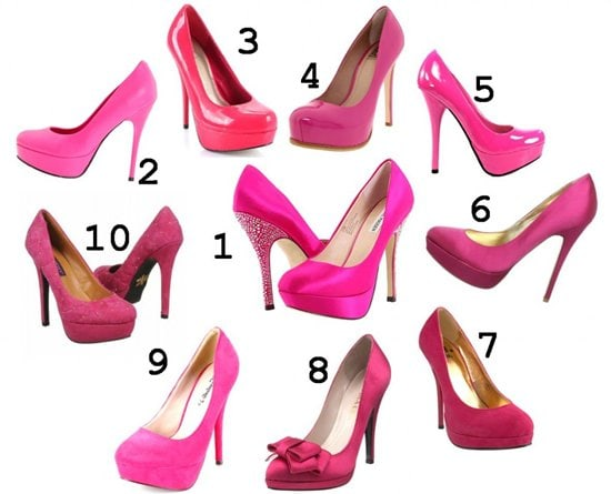 HOT in 10 HOT PINK SHOES