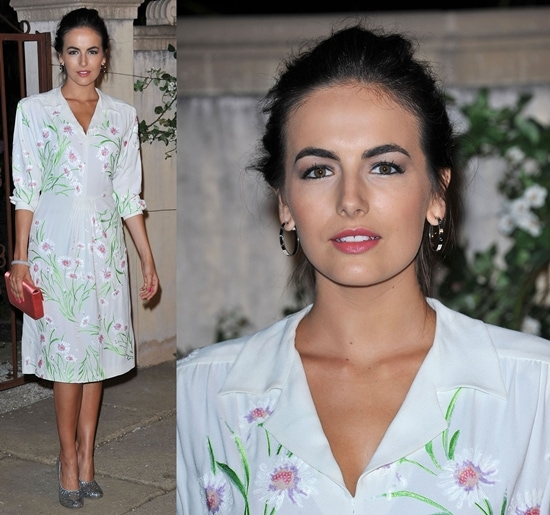 Camilla Belle attends the Miu Miu presents Lucrecia Martel's Muta event held at a private residence in Beverly Hills, California on July 19, 2011