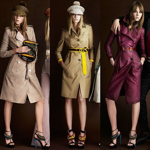 Looks from the Burberry Prorsum Resort 2012 collection