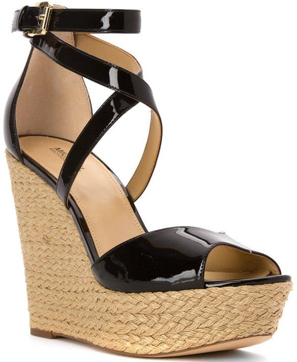 Michael Kors Gabriella Platform Wedge Sandals