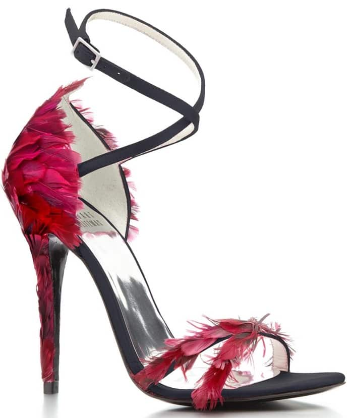 60c5c22c9b0 Olivia Palermo Co-Designs Stuart Weitzman Heels for a Cause