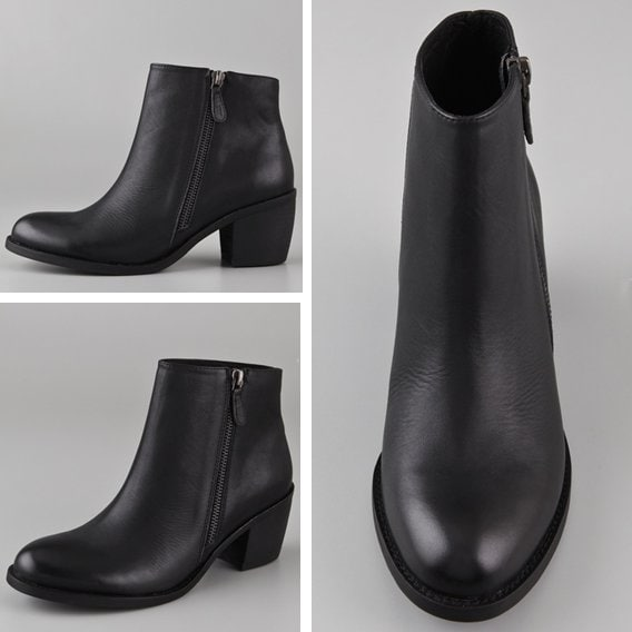 ONE By Matisse Presley Outside Zip Boots in Black