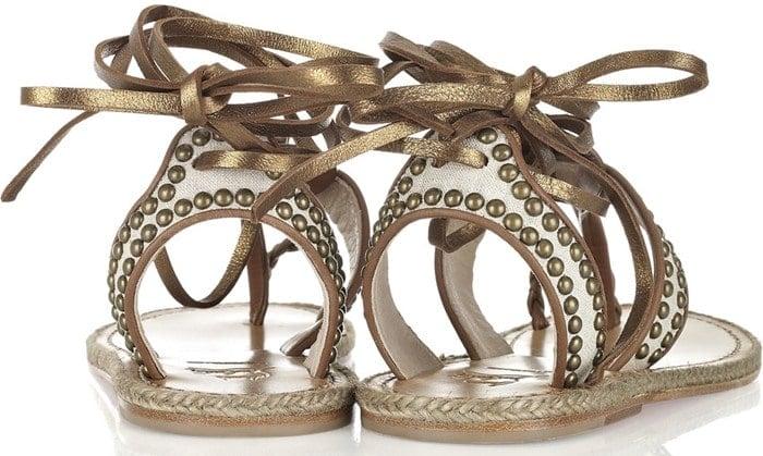 Christian Louboutin Hola Chica Flat Sandal Back