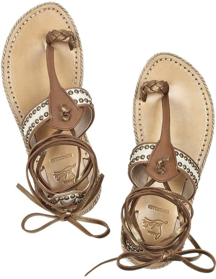 Christian Louboutin Hola Chica Flat Sandal Top