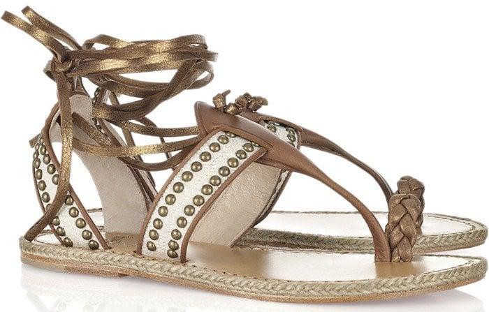 Christian Louboutin Hola Chica Flat Sandal