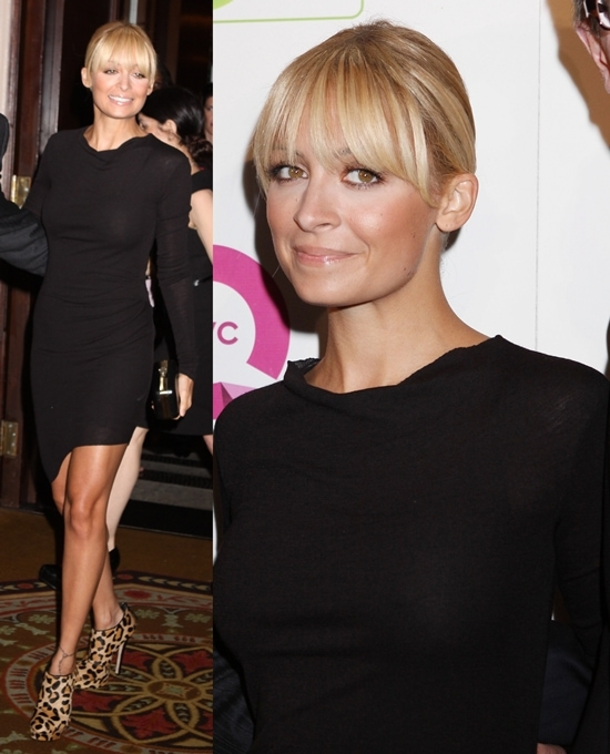 """Nicole Richie attends the 18th Annual QVC presents """"FFANY Shoes On Sale"""" at the Waldorf Astoria in New York City on October 13, 2011"""
