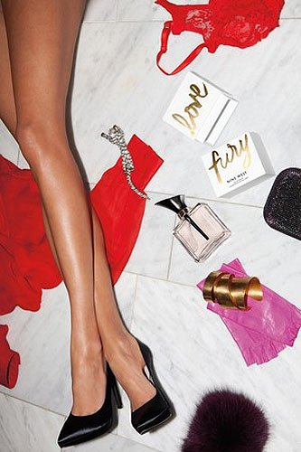 Nine West Love Fury fragrance and shoes