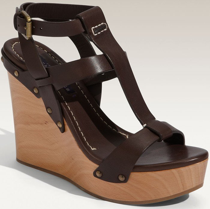 Ralph Lauren Collection 'Fisseah' Wedge Sandal