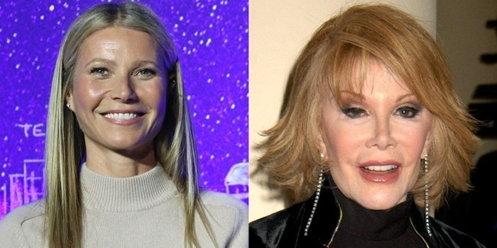 Gwyneth Paltrow says she started looking like American comedian Joan Rivers after Botox injections