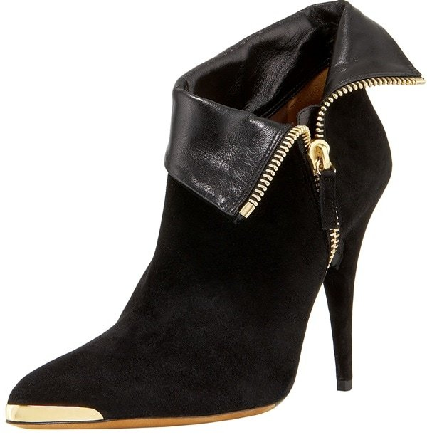 """Tabitha Simmons """"Esther"""" Booties in Black"""