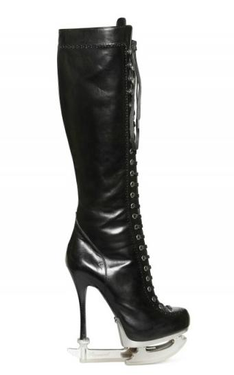DSQUARED2 Calf Laced High Boots