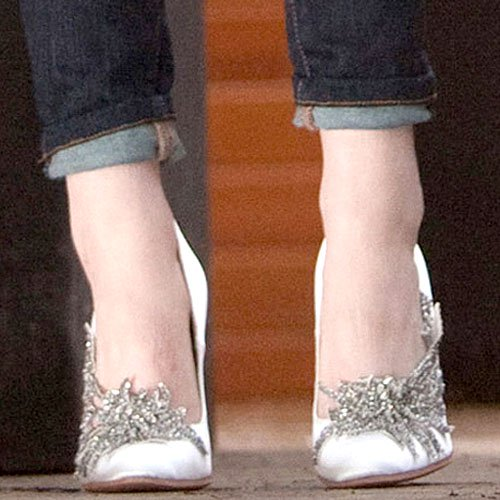Bella Swan's Manolo Blahnik wedding shoes