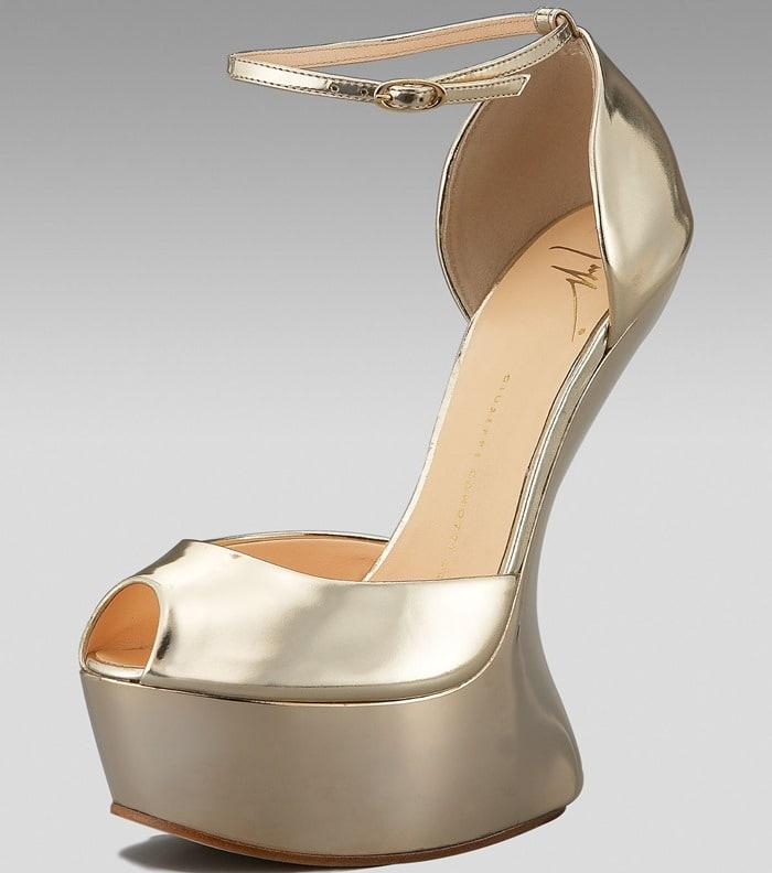 Giuseppe Zanotti Heel-Less Platform d'Orsay Pump