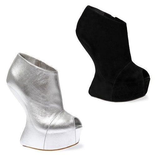 Giuseppe Zanotti heel-less open toe booties