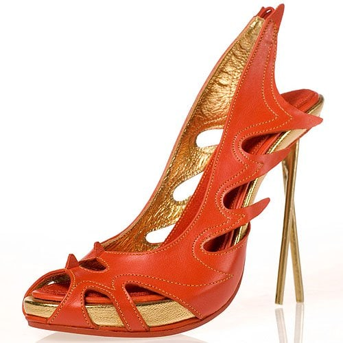 Contemporary Chinese chopstick stilettos