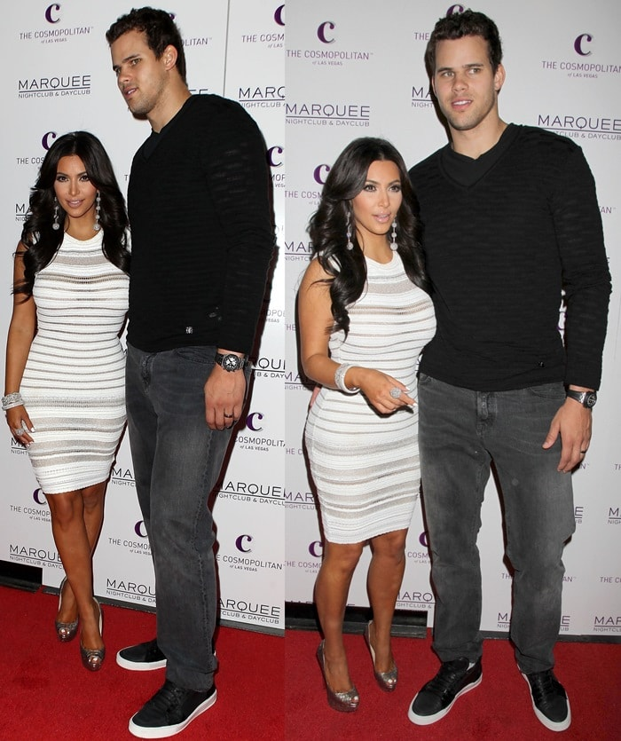 Kim Kardashian is rumored to have faked her marriage with Kris Humphries for the sake of publicity
