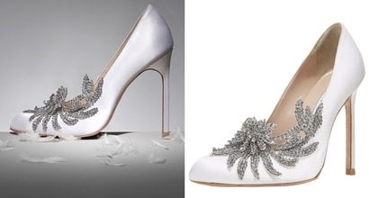 bella swans wedding shoes manolo blahniks swan satin
