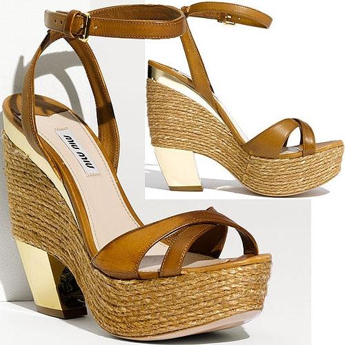 Miu Miu wedge sandal