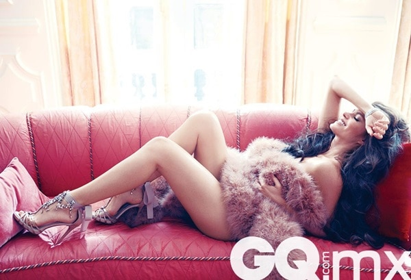 Sofía Vergara in the May 2012 issue of GQ Mexico