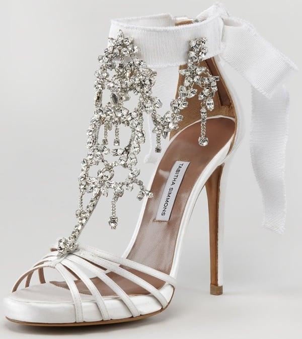 Tabitha Simmons Evita Chandelier Sandals