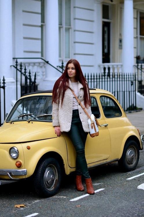 Aleksandra Boyarova is crazy about photo shoots and style experiments