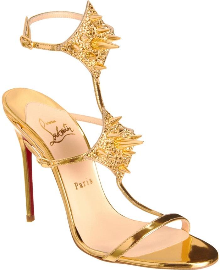 Christian Louboutin Gold Lady Max