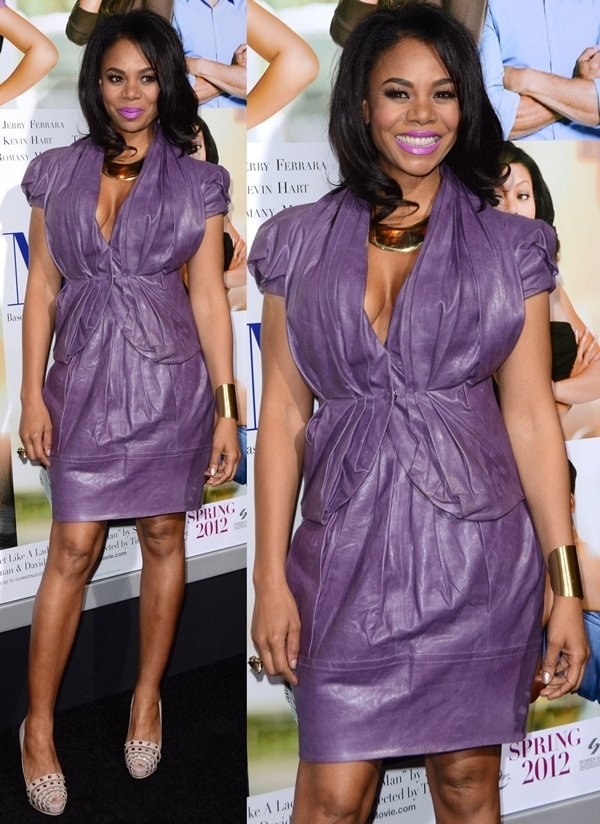 """Regina Hall at the premiere Of Screen Gems' """"Think Like A Man"""" held at the ArcLight Cinemas Cinerama Dome in Los Angeles, February 9, 2012"""