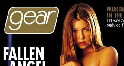 Jessica Biels Topless Gear Magazine Cover Shocked Her Friends