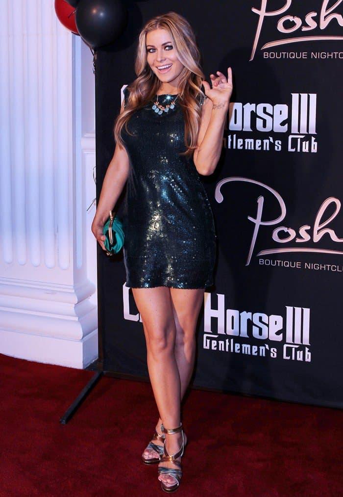Carmen Electra celebrates birthday in Las Vegas