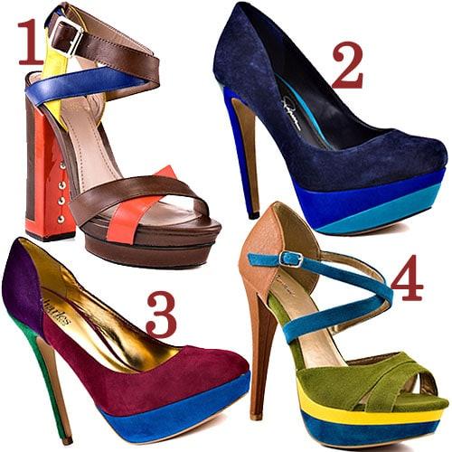 4 color-blocking shoes