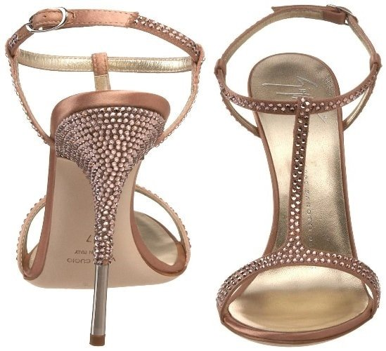 Giuseppe Zanotti E10258 Crystal Sandal