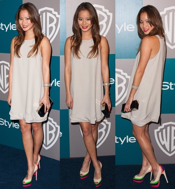 Jamie Chung attends the 69th Annual Golden Globe Awards 13th Annual Warner Bros. And InStyle After Party