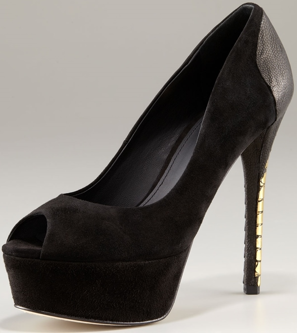 B Brian Atwood 'Blayne' in Black and Gold