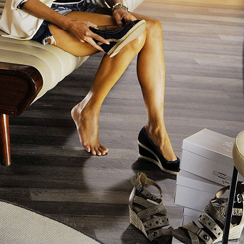 Halle Berry's 5th Avenue shoes