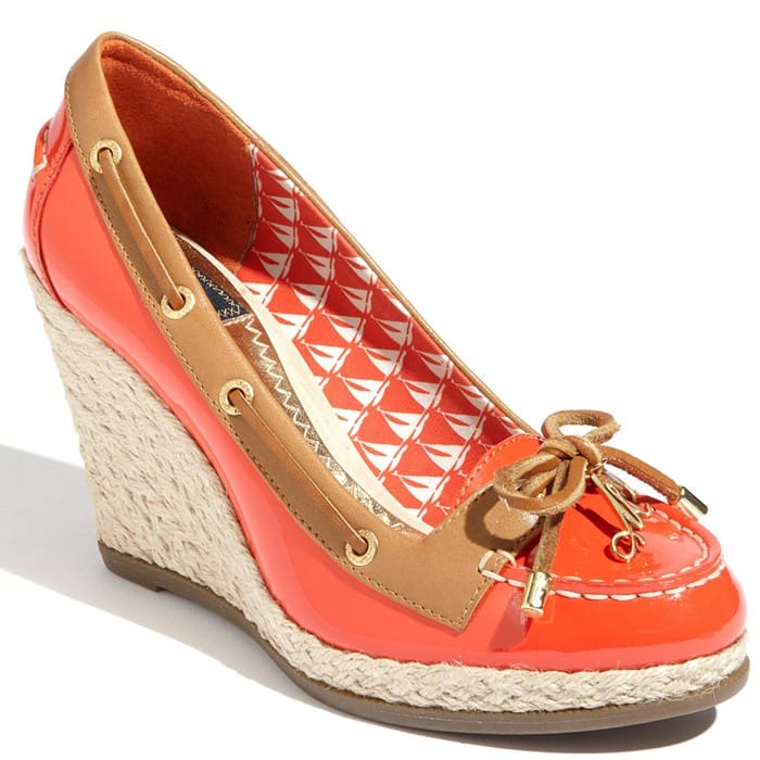 Milly for Sperry Top-Sider Cunard Wedge