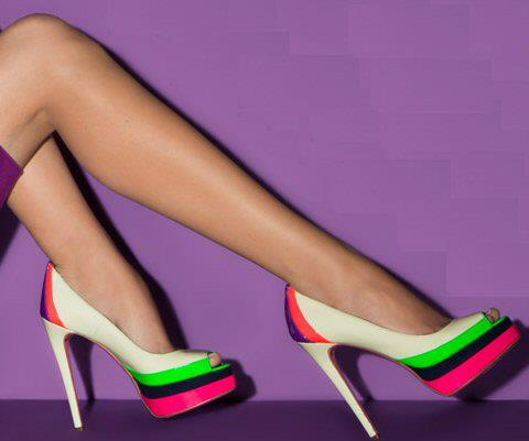 Ruthie Davis 'Popsicle' Pumps in Ivory